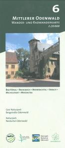 Wander- und Radwanderkarte 6: Mittlerer Odenwald