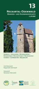 Wander- und Radwanderkarte 13: Neckartal-Odenwald
