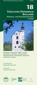 Wander- und Radwanderkarte 18:  Mosbach und Umgebung