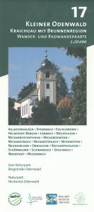 Wander- und Radwanderkarte 17: Kleiner Odenwald