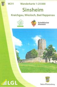 Wanderkarte Sinsheim W211