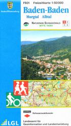 Topographische Freizeitkarte F 501, Naturpark Schwarzwald
