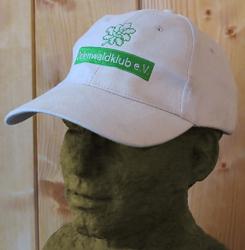 Schildmütze mit gesticktem Odenwaldklub-Emblem