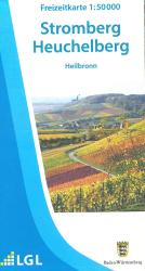 Topographische Freizeitkarte F 517, Naturpark Stromberg-Heuchelberg